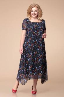 Romanovich Style 1-1332 синий/цветочный_принт
