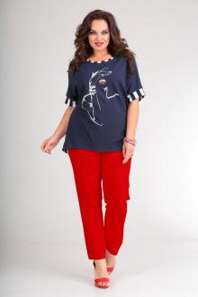 Andrea Style 00165 синий+красный