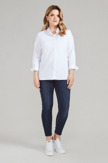 блуза Панда 389743 белый