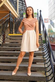Fayno Fashion 237 розово-белый