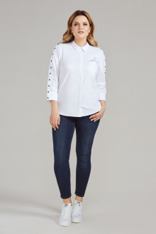 блуза Панда 438640 белый