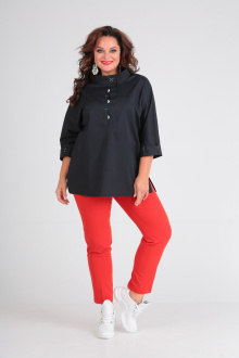 Andrea Style 00188 черный+красный