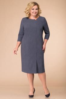 платье Линия Л Б-1392 серый