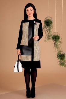 Мода Юрс 2457 черный-беж