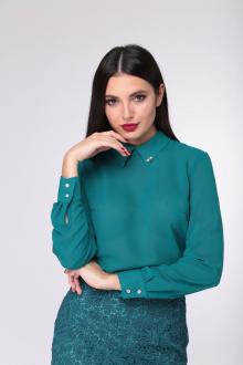 Блуза Nivard 1103 изумруд