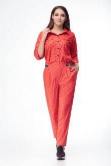 брюки,  рубашка Luana Plus 109 красный