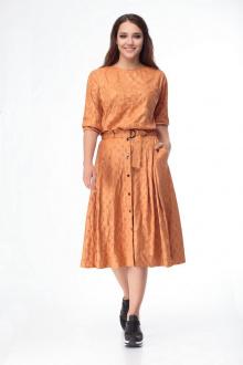 блуза,  юбка Luana Plus 108 рыжий
