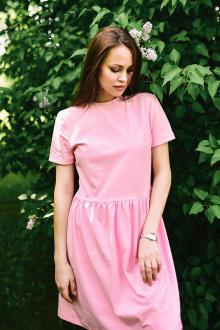 Rawwwr clothing 007 розовый_однотон