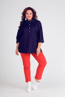 Andrea Style 00188 синий+красный