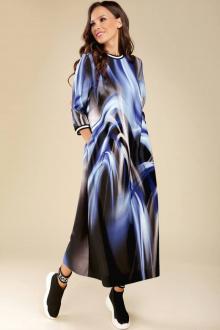 Teffi Style L-1432 синие_разводы