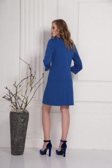 платье AMORI 9414 синий