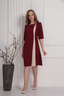 платье AMORI 9417 вишня