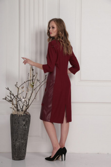 платье AMORI 9421 вишня