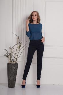 блуза AMORI 6163 синий