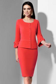 жакет,  юбка Lissana 3500 красный