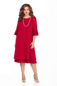 платье TEZA 250 красный