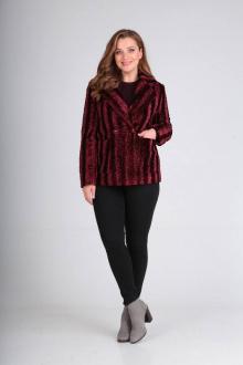 куртка Luana Plus 111 бордо