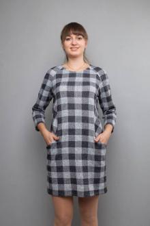 Mita ЖМ859 серый/клетка