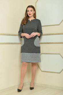 Lady Style Classic 1482 серый_черный