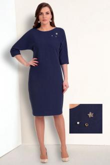 платье Мишель стиль 543 синий