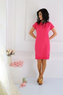 платье AMORI 9215 малиновый