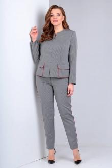 Liona Style 719Б серый+фуксия