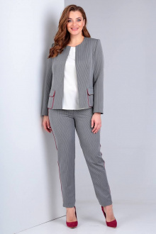Liona Style 719Б серый+белый