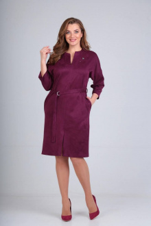 платье Luana Plus 110 ежевика