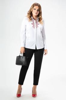 блуза Панда 457140 белый