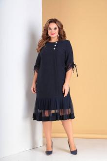 платье Moda Versal П2097 темно-синий