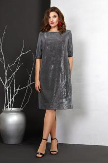 платье Mubliz 406 серебро