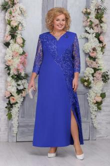платье Ninele 5743 василек