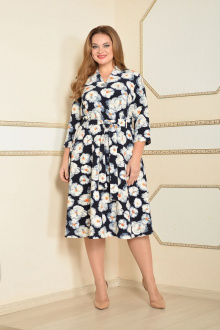 Lady Style Classic 1533/1 т.синий-белый