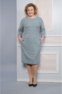 Lady Style Classic 1234 серый-бирюза