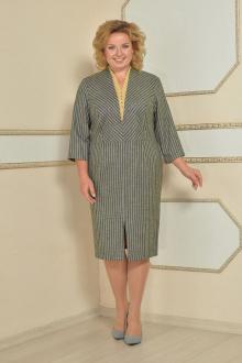 Lady Style Classic 1720 серый-желтый
