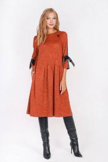 Платье Daloria 1413 кирпичный