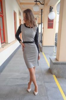 Fayno Fashion 124 серый+черный
