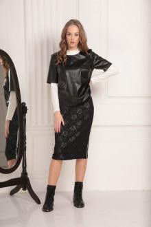 блуза AMORI 6184 черный