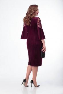 платье Gold Style 2396 бордо