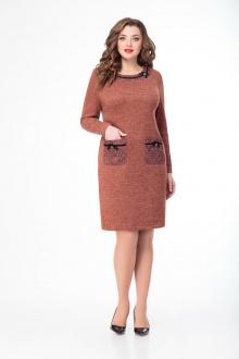Платье DaLi 4342 коричневый