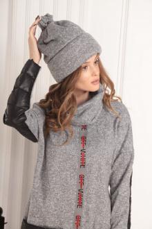 шарф AMORI 1002 серый