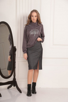 юбка AMORI 3089 серый