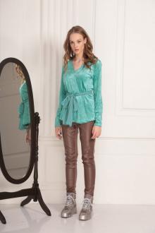 Блуза AMORI 6189 бирюза