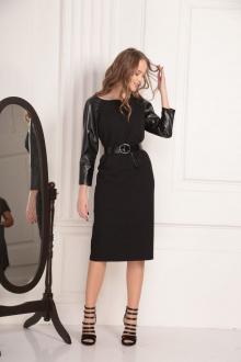 платье,  пояс AMORI 9446 чёрный