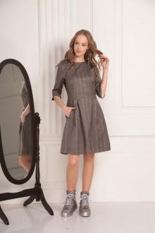 платье AMORI 9450 шоколад