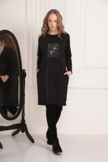 платье AMORI 9454 черный