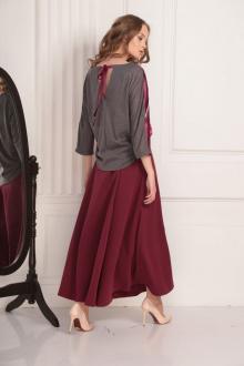 блуза AMORI 6198 ежевика
