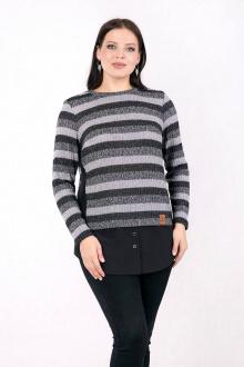 Daloria 6072 серый-черный