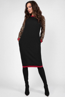Teffi Style L-1452 черный-красный_довяз