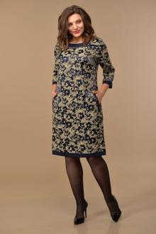 Lady Style Classic 1427 т.синий-беж